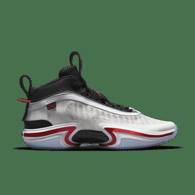 Air Jordan XXXVI White/University Red-Black black CZ2650-100