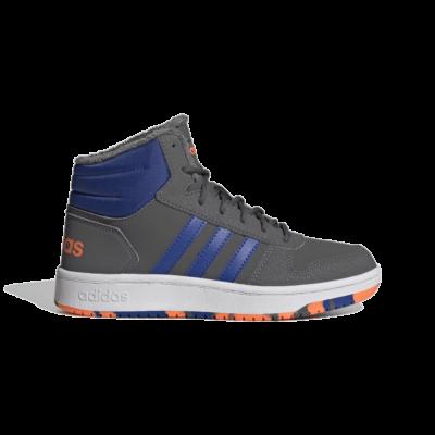 adidas Hoops 2.0 Mid Grey Five FW4278