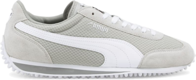 Women's PUMA Whirlwind Classic s, Grey High Rise,White,Silver 375892_05