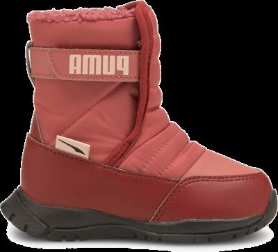 PUMA Nieve Winter Babies' Boots, Mauvewood/Lotus Mauvewood,Lotus 380746_04