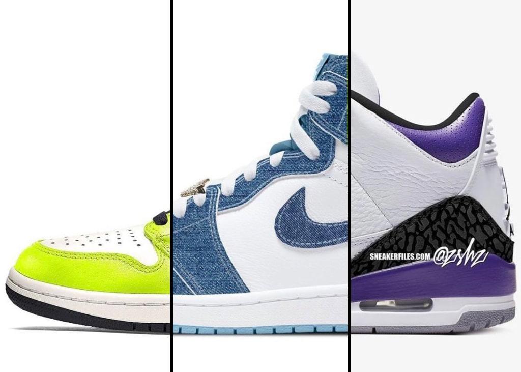 Drie van die: Air Jordan release geruchten mét mock-up