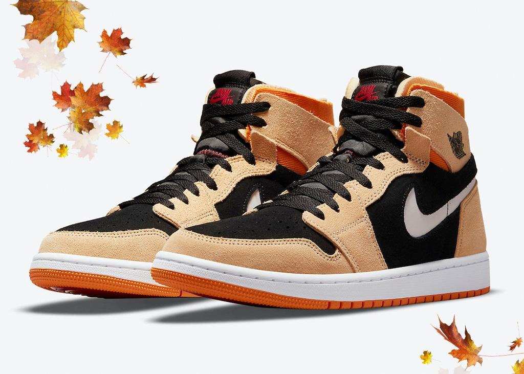 De nieuwe 'Pumpkin' Air Jordan 1 Zoom Air is klaar voor de herfst