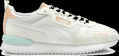 Women's PUMA R78 Runner s, White/Peach Parfait 373117_41