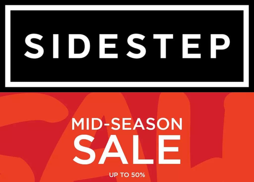 Check de 15 beste steals uit de Sidestep Mid Season sale!
