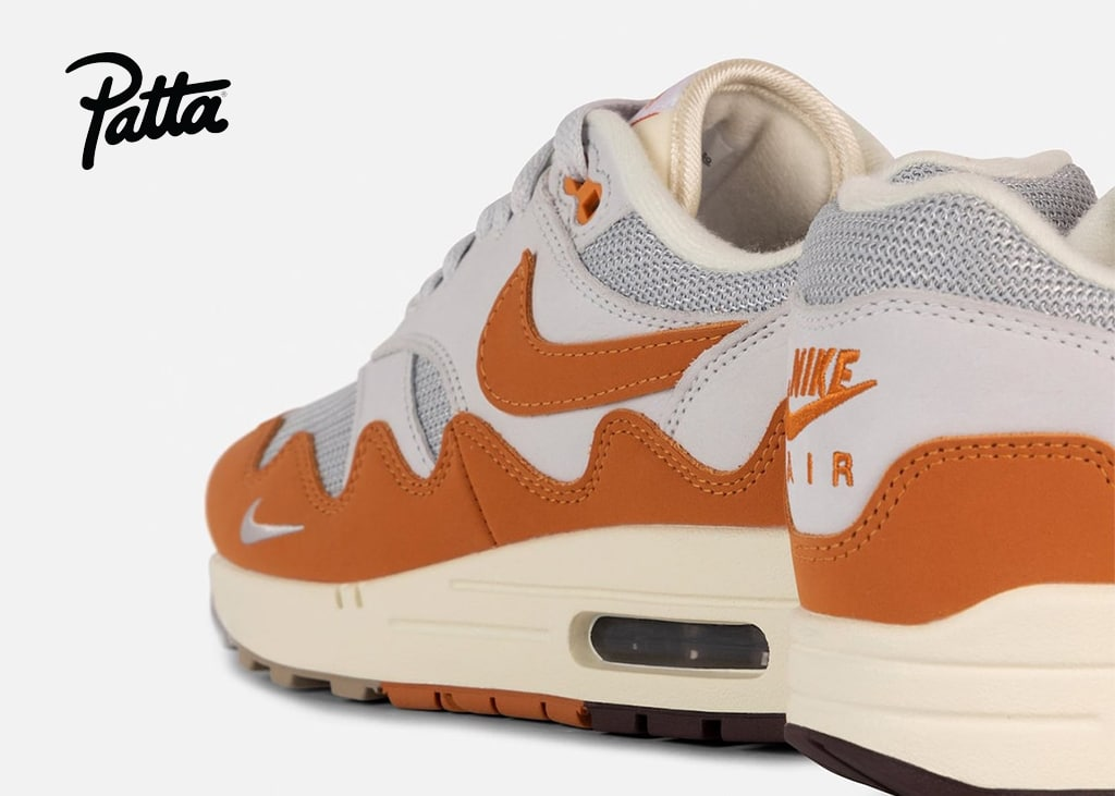De releasedatum voor de eerste Patta x Nike Air Max 1 collab is bekend