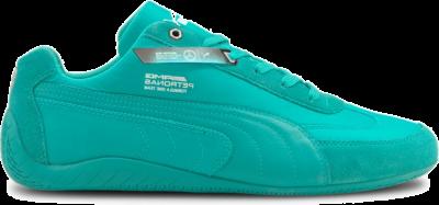Men's PUMA Mercedes F1 SpeedCat Motorsport Shoe Sneakers, Spectra Green/Spectra Green 306797_02