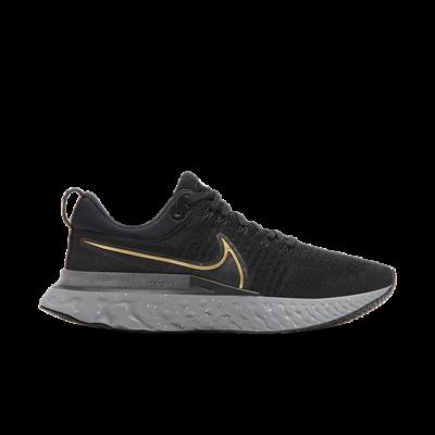 Nike React Infinity Run Flyknit 2 Zwart CT2357-009