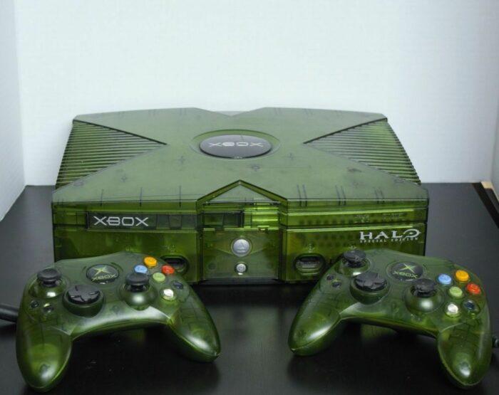 xbox microsoft halo special edition