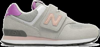 New Balance 574 Grau/Pink