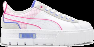 PUMA Mayze Tech Women's s, White/Luminous Pink White,Luminous Pink 381607_03