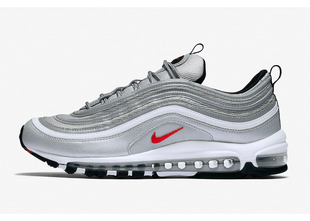 """Volgend jaar keren ze terug: De Nike Air Max 97 """"Silver Bullet"""" sneakers"""