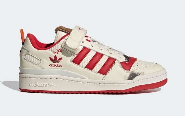 side Adidas forum low home alone