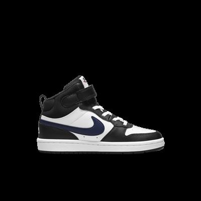 Nike Court Borough Mid 2 Wit DO5891-161