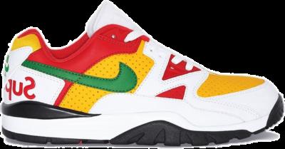 Nike Cross Trainer Low Supreme White Yellow Red CJ5291-100