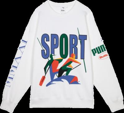 Puma Crew x Butter Goods White 532440-02