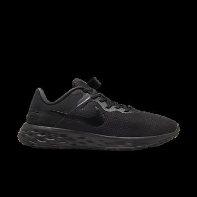 Nike Revolution 6 FlyEase Next Nature Gemakkelijk aan en uit te trekken Zwart DD8476-001